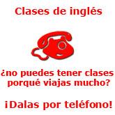 clases ingles por telefono